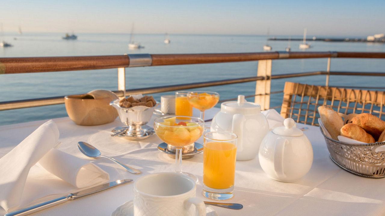 ontbijt albatroz